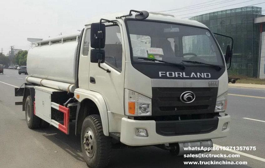 Forland 4x2 Diesel tanker truck