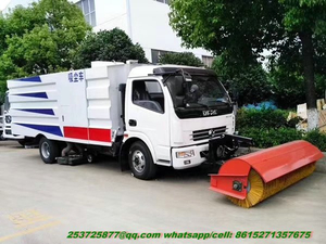 Dongfeng Sweeper Trucks with Snow Sweeper