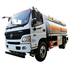 FOTON Refuel Truck Tanker Truck For Petroleum Oil Refuel With PTO Oil Pump 10000 Litres (2100 Gallons)
