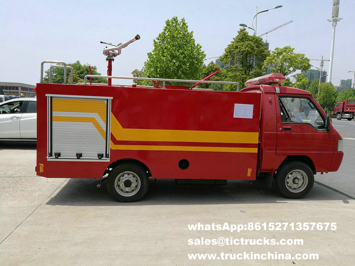small Fire Fast (Quick) Attack Fire Truck export to TEMA CIF price