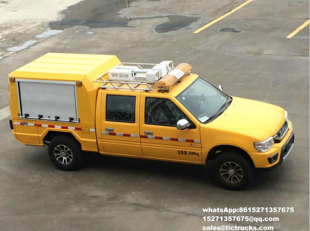 Camion 77_1.jpg de délivrance d'ingénierie d'ISUZU