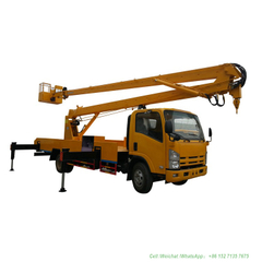 ISUZU Folding Arm Hydraulic Aerial Truck with Bucket (14-18m Platform)