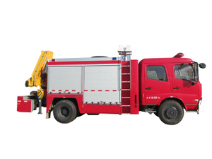 king Run Emergency rescue fire vchicle Euro 3 / 5