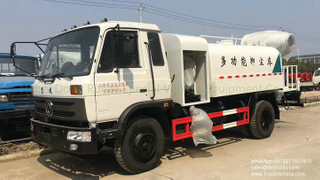 6000L-9000L fine water mist dust control truck with fog cannon