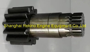706-73-43960 PC130 Komatsu excavator swing motor rotary vertical shaft
