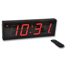 4 Inch 4 Digits LED Digital Wall Clock