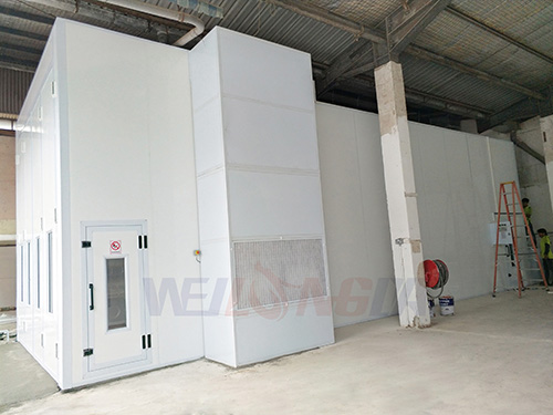 Singapore spray booth