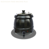 Hot Sale Buffet Electric Soup Kettle Warmer HSK-10L