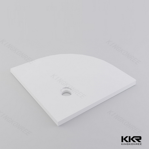 triangle solid surface shower bases kkrt008