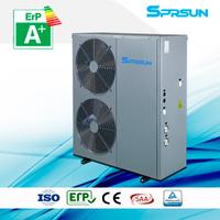5P 75℃ Hot Water High Temperature Air Source Heat Pump Heating