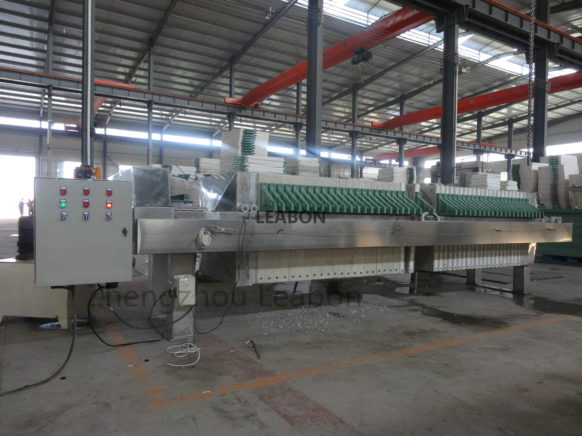 Environmental Protection Stainless Steel Filter Sterilization Machine