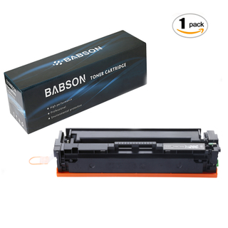 BABSON Compatible HP 201X CF400X HP 201A CF400A High Yield Toner Cartridge use for HP Color LaserJet Pro MFP M277dw M277n M252dw M252n, 1 Pack(Black)