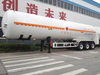 52.6CBM Liquefied Natural Gas Tank LNG Tanker Transport Semi Trailer