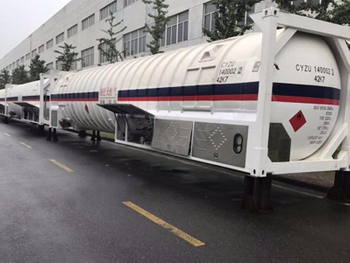 High Quality 40feet 40440L T50/T75 LPG/LNG ISO Storage Tank