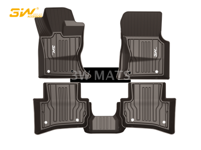 TPE car mat for Jaguar FACE