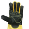 16 Inches Black Cowhide Grain Leather Welding Glove
