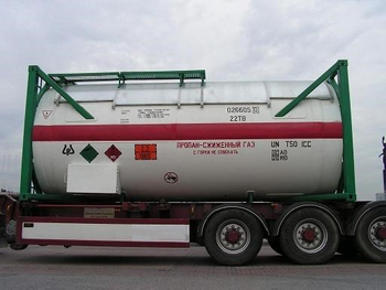 20FT 30tons T50 Chlorine Gas Liquified Tank Container with BV,ASME CSC Certificates