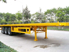 3 Axle 40FT Semi Trailer Container with 60T