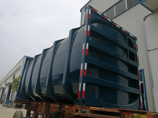 29.5m3 Plaster Powder Tank Container ISO Tank for Sale
