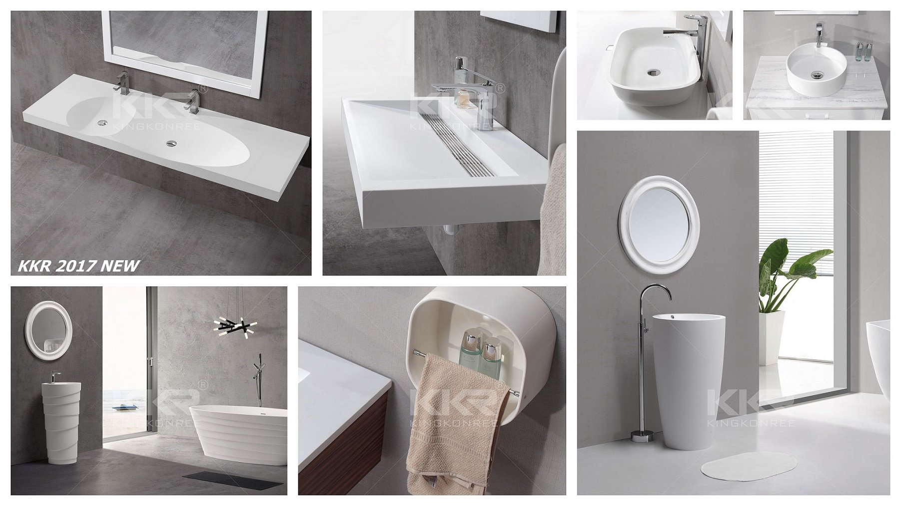 Comparison of solid surface bathroom sinks & ceramic bathroom basins