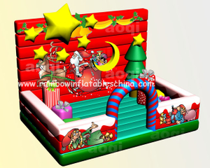 RB20023(5x8m) Inflatable Popular Xmas Scenery For Commercial Activity