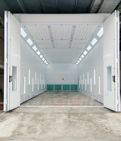Singapore paint booth