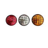 HC-B-2703 COLORFUL SMALL ROUND LED REAR LAMP FOR BUS AND TRUCK DIA130MM