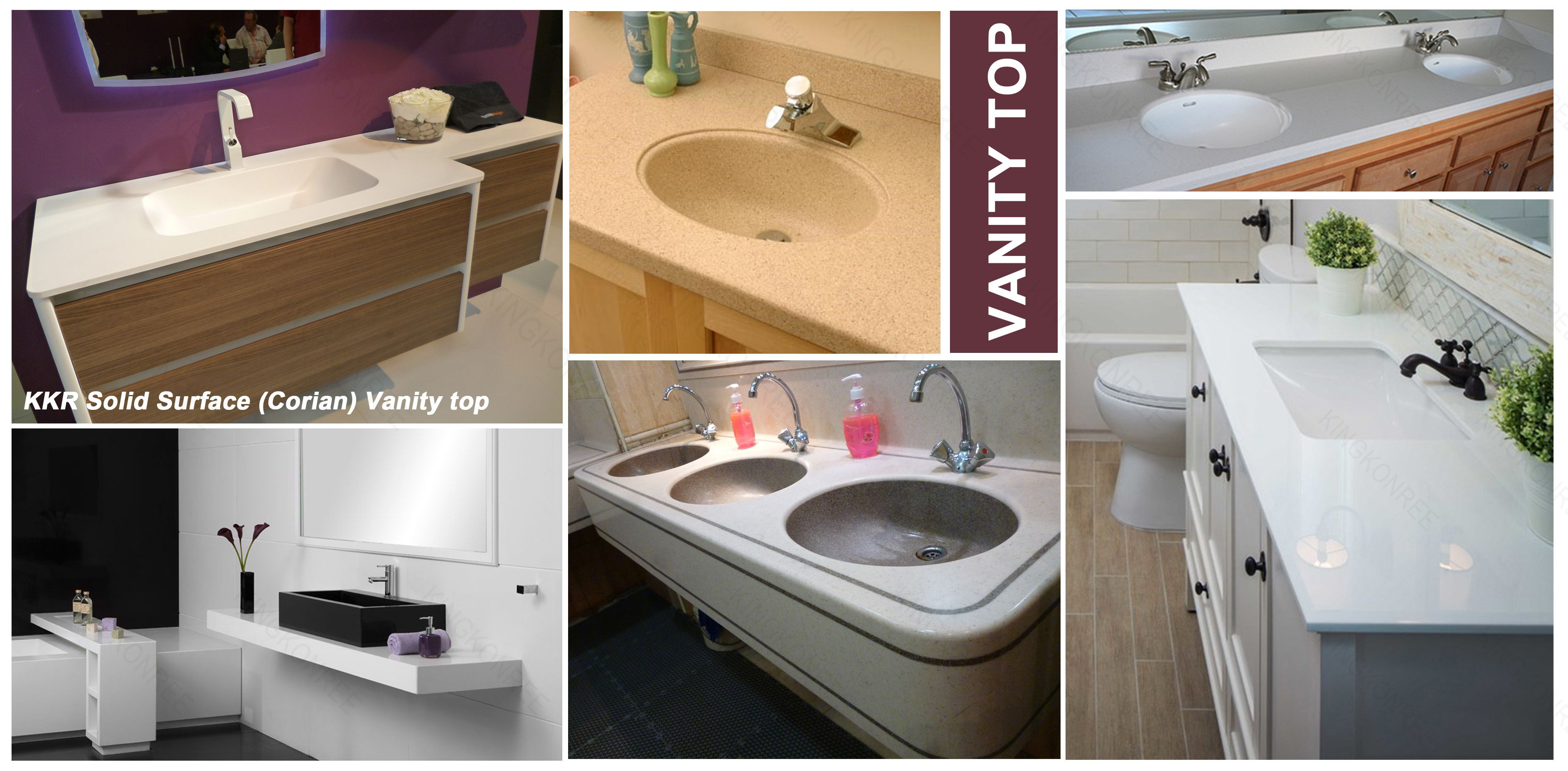 custom solid surface vanity tops instavanity