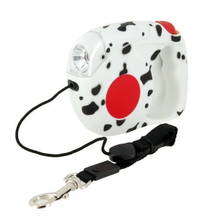 Auto Retractable Dog Leash LED Flashlight