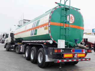 36CBM Asphalt/Bitumen/Pitch Tank Truck Semi Trailer with Heat Preservation System