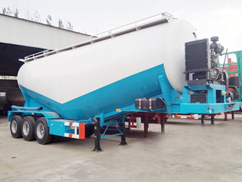 Tri-Axle 35CBM Bulk Cement Power Tank Прицеп для продажи