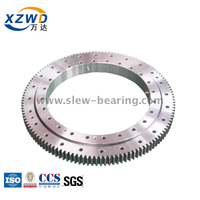 Xuzhou Wanda Single Row Four Point Contact Ball Slewing Bearing (Q) External Gear