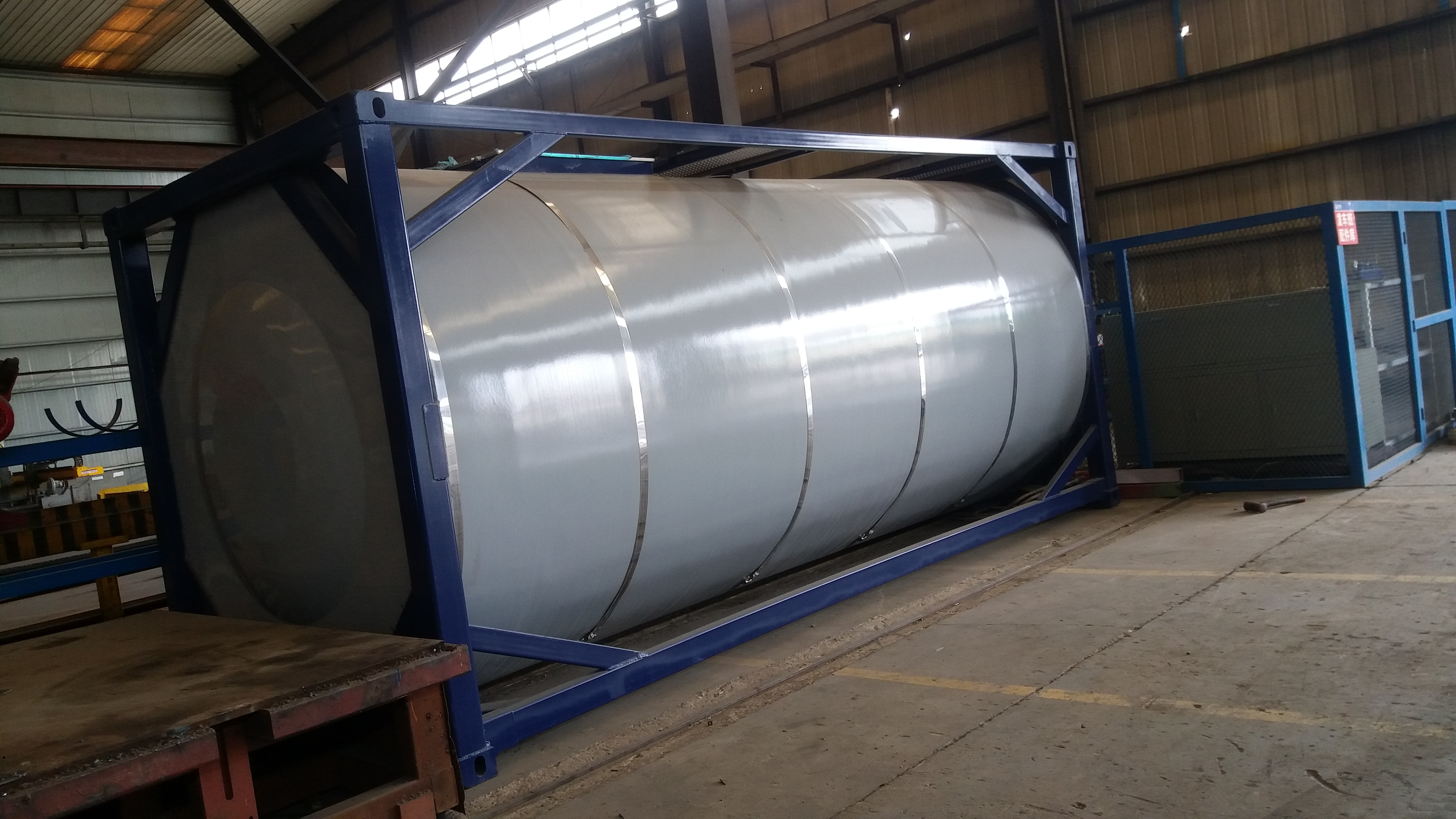 20feet 24CBM Emulsion T11 Tank Container with Csc, ASME, Lr Or BV Certificates