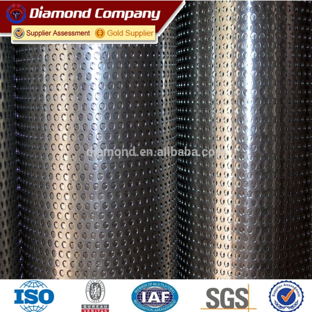 round, square, triangle, diamond, hexagonal, cross perfortaed metal mesh