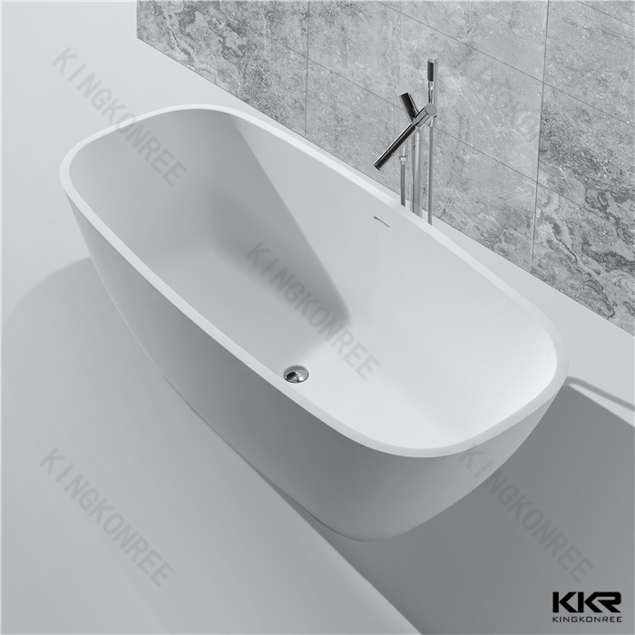 Artificial stone square bathtub KKR-B037 from China manufacturer ...