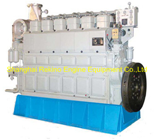 554HP-1500HP Zichai medium speed marine diesel engine (6210ZLCZ)