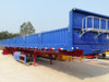 Top Quality 3 Axle 70 Tons Sidewall Tractor Semi Trailer