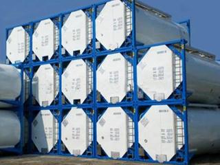 20FT 40FT ISO Chemical Corrosive Liquid Transport Tank Container