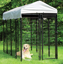 outdoor 4ft x4ft x6ft black welded wire Large dog cage