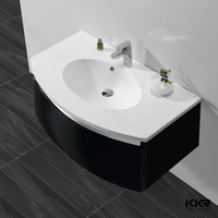 Solid Surface Bathroom Sinks KKR-1522