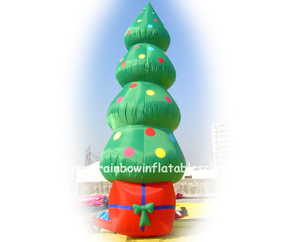 RB20020(4m) Inflatable Commercial Christmas Tree For Hot Sale