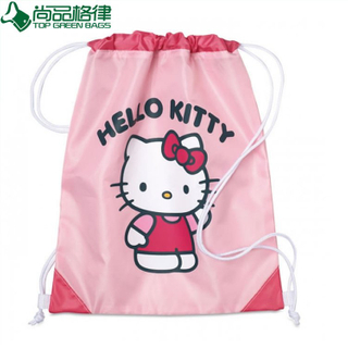 Personalized Promotional Cartoon Kids Drawstring Bag (TP-dB176)