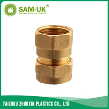 Brass pipe adapters for water supply