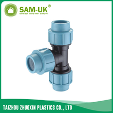 PP tee for irrigation water