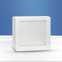 Square surface mounted panel light 16W