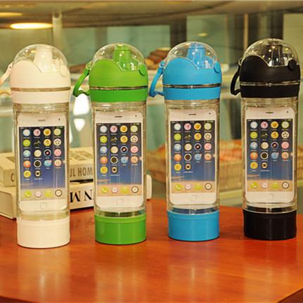 健身达人必备神器 ibottle杯手机杯 tritan材质不含BPA