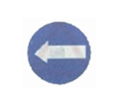Traffic Arrow Sign