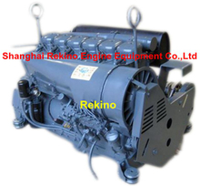 Deutz F6L914 air cooled diesel engine for construction machinery 70-85KW