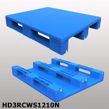 1200*1000*150mm 3 Runners & closed deck hygeian plastic pallet