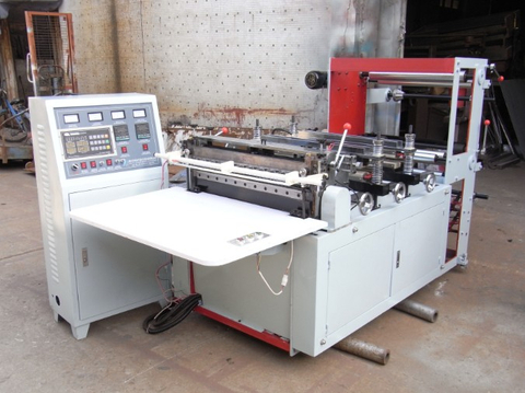 QDT600 double lines high speed cutting machine